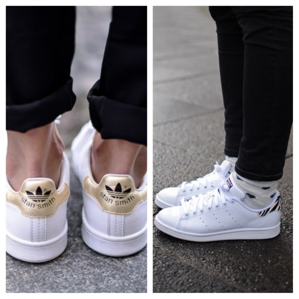 Adidas Stan Smith Blancas Y Doradas