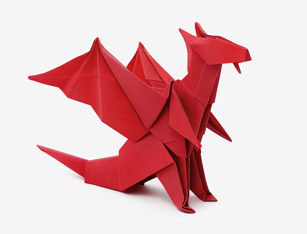Origami Dragon Easy