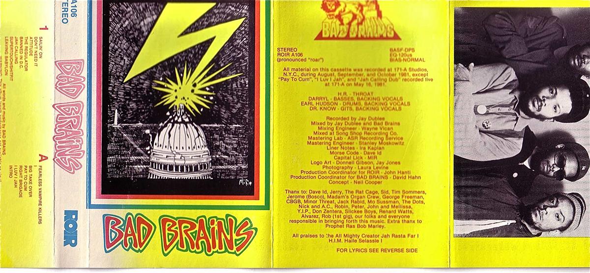 Bad Brains casete.lecoolvalencia