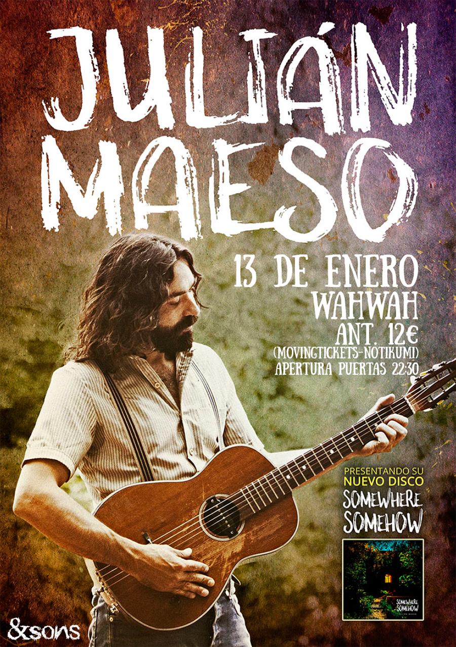 Julián Maeso cartel.lecoolvalencia