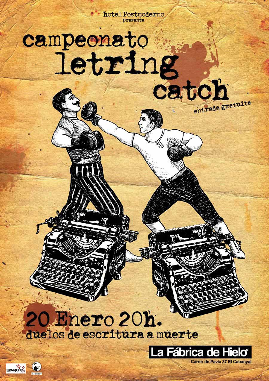 Letring Catch cartel.lecoolvalencia