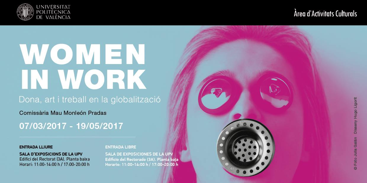 Cartel Promo Women In Work UPV