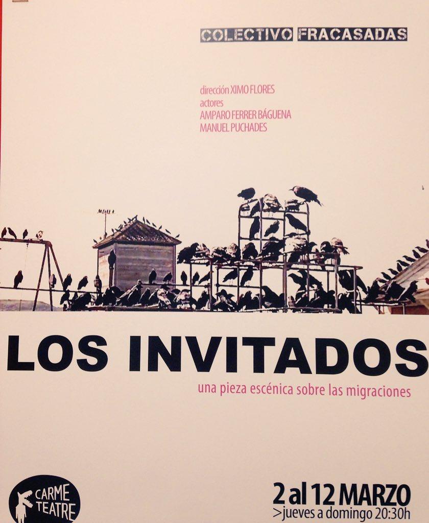 Los Invitados cartel.lecoolvalencia