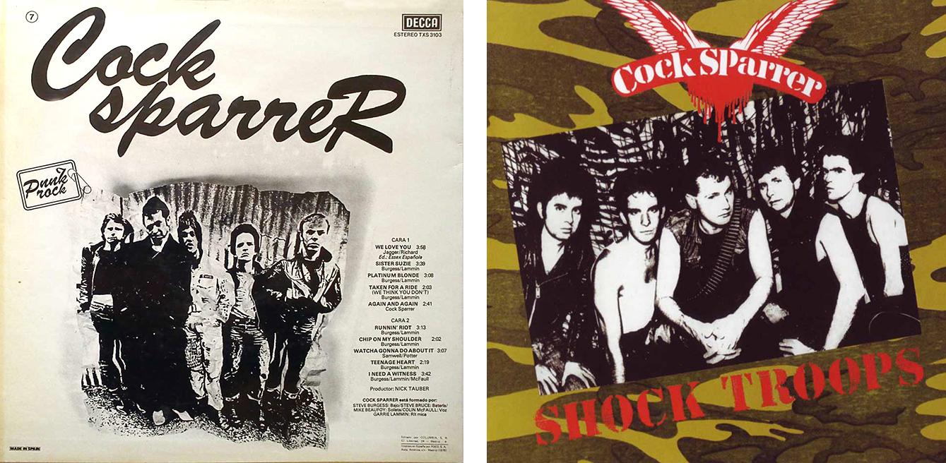 Cock Sparrer albums 1.lecoolvalencia