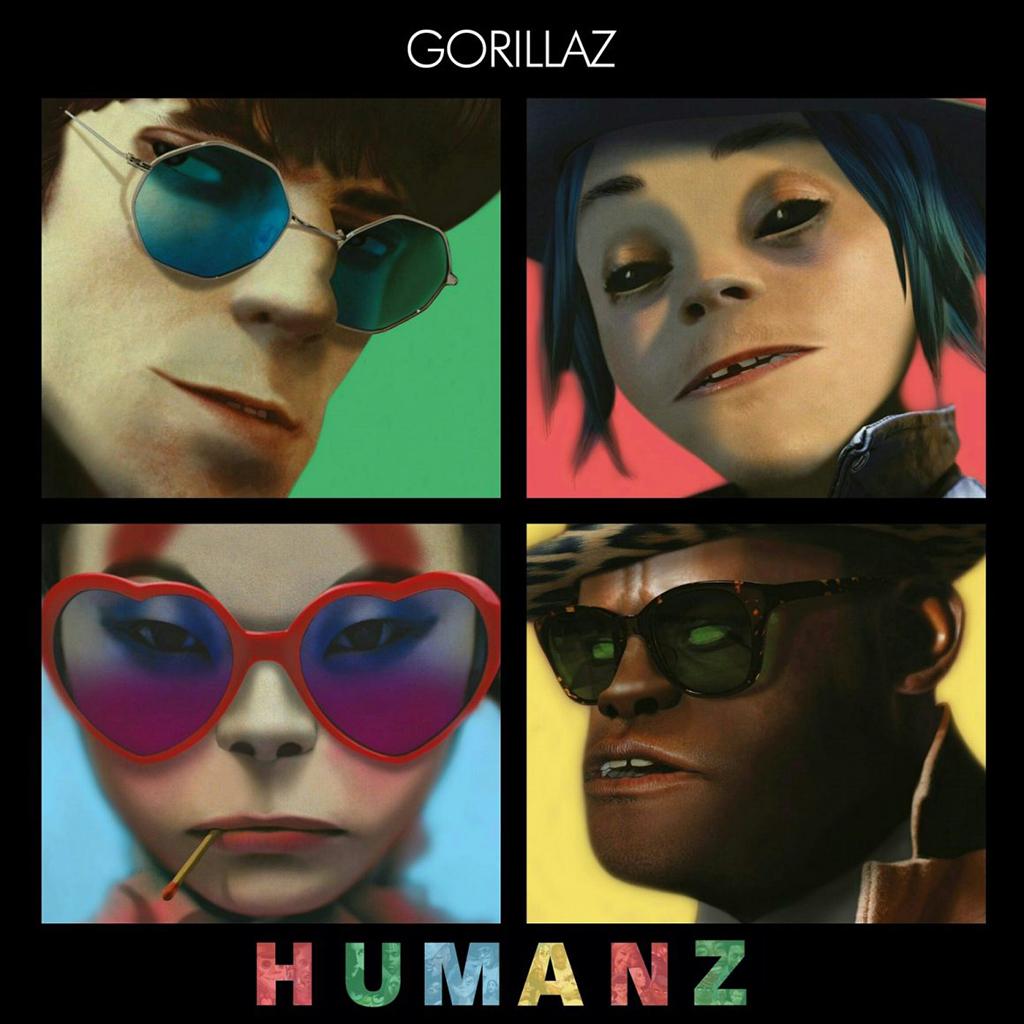 Gorillaz Humanz.lecoolvalencia