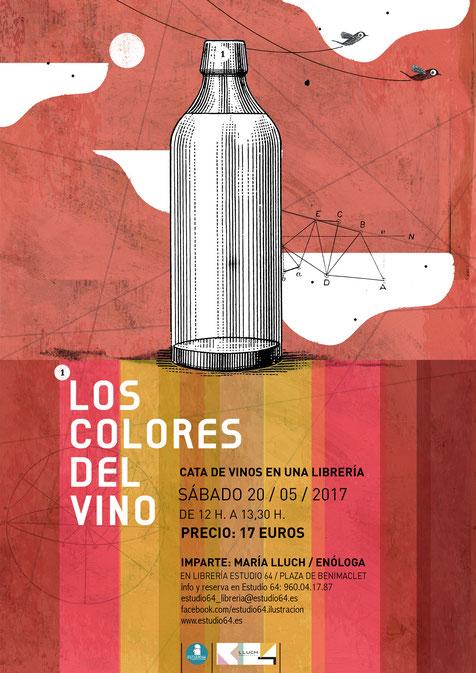Los colores del vino.lecoolvalencia