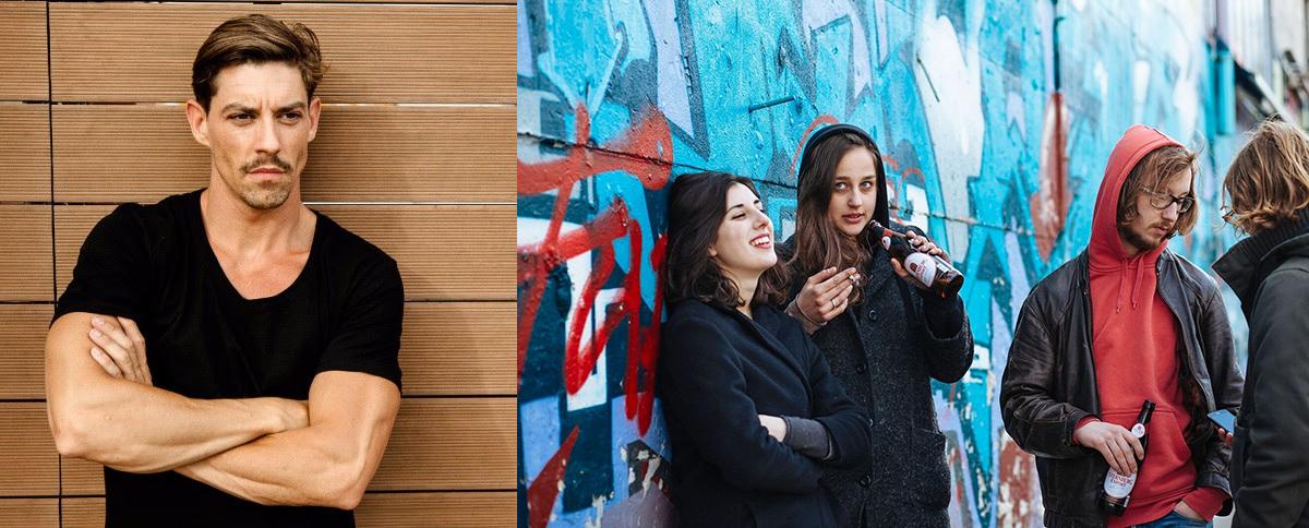 Adrián Lastra y Elena Martín.lecoolvalencia