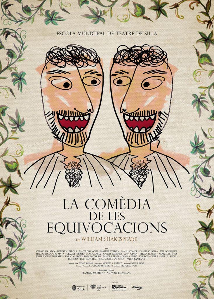 La Comèdia de les equivocacions cartel.lecoolvalencia