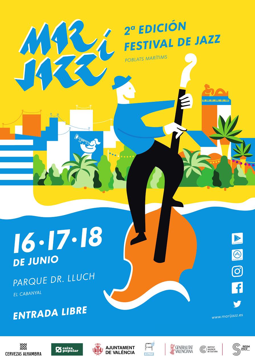 Mar i Jazz 2017 cartel.lecoolvalencia