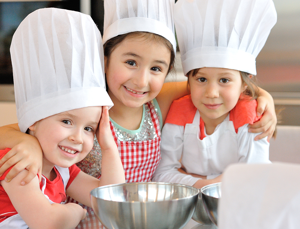 Pequeños chefs.lecoolvalencia
