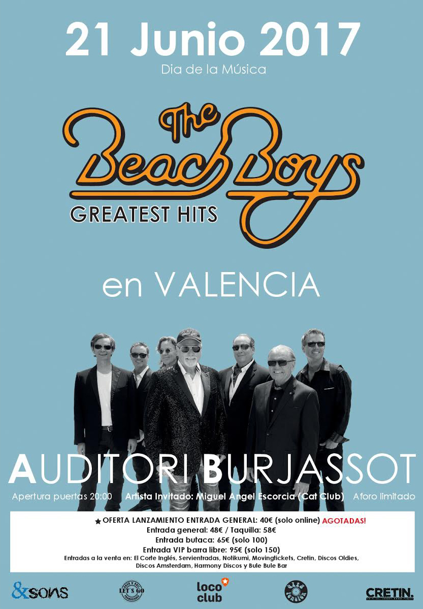 The Beach Boys 2017.lecoolvalencia