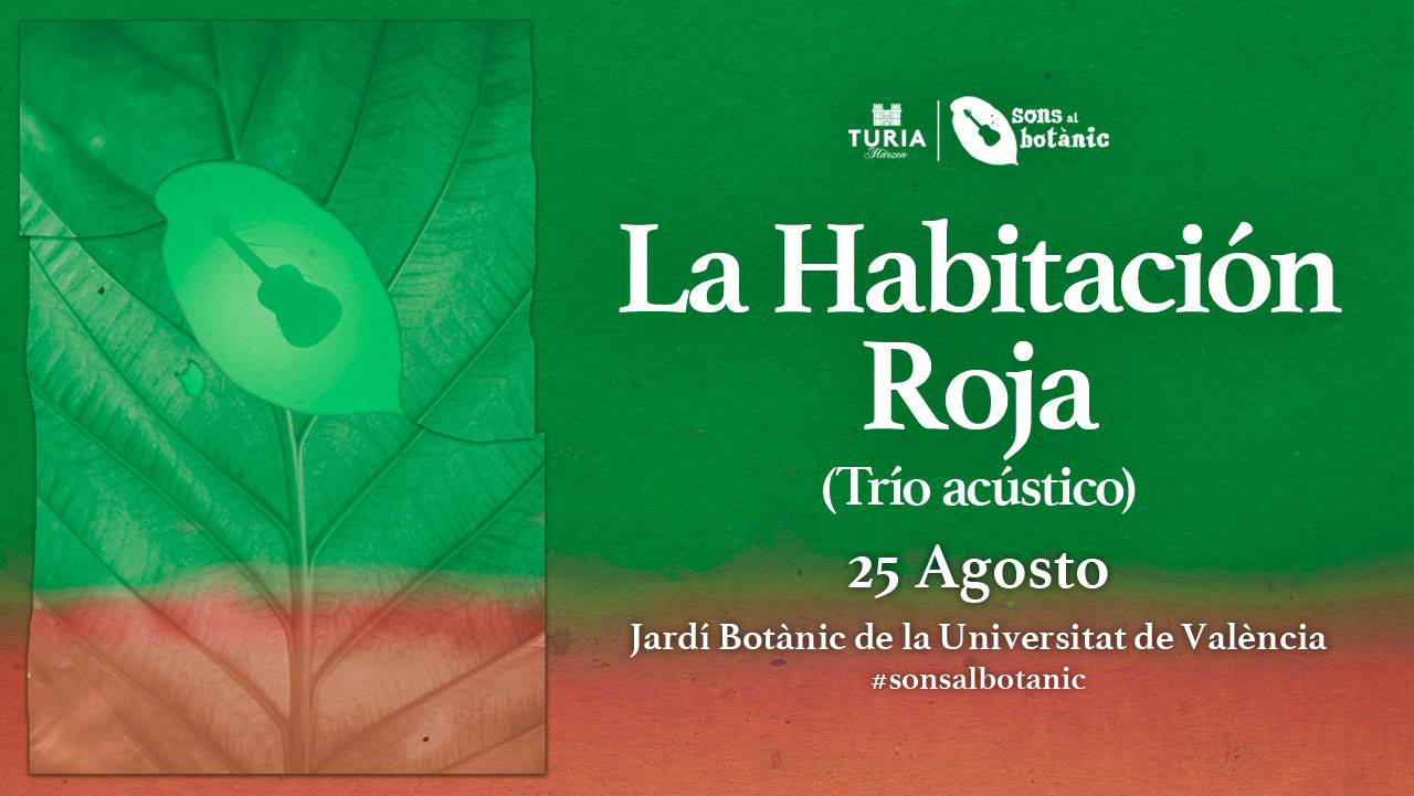 La Habitación Sons Al Botánic cartel.lecoolvalencia