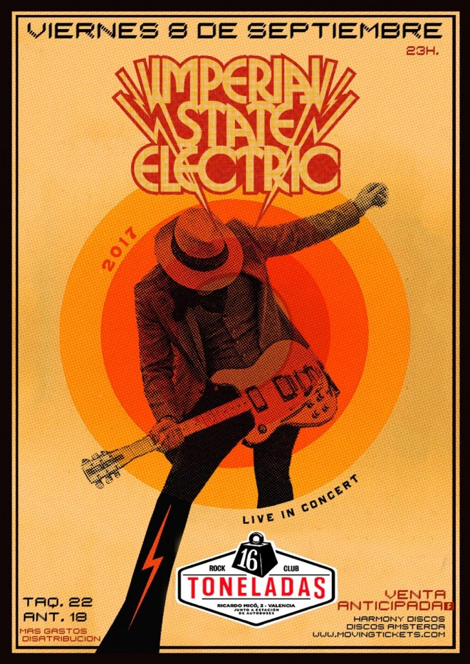Imperial State Electric cartel.lecoolvalencia