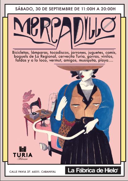 Mercadillo Fab Hielo cartel.lecoolvalencia