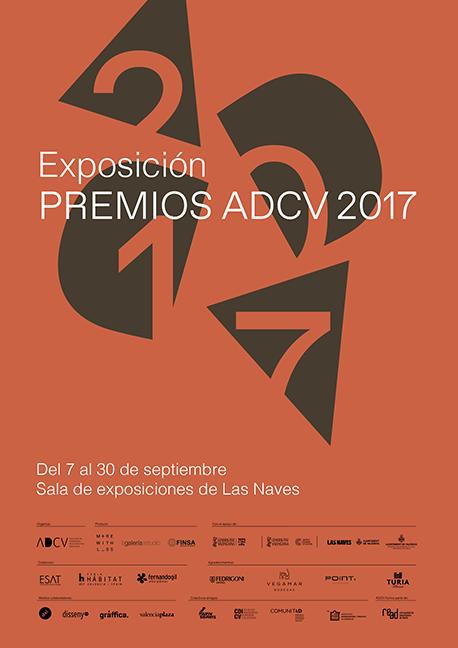 Premios ADCV 2017 cartel.lecoolvalencia