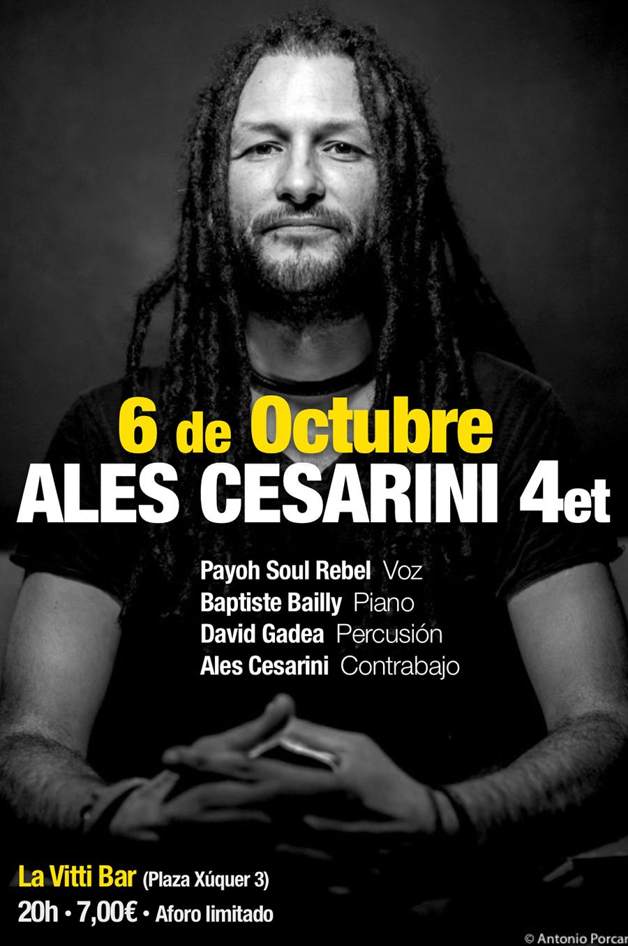 Ales Cesarini en La Vitti.lecoolvalencia