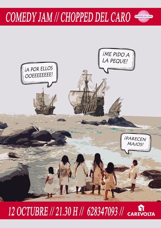 Comedy Jam en Ca Revolta.lecoolvalencia
