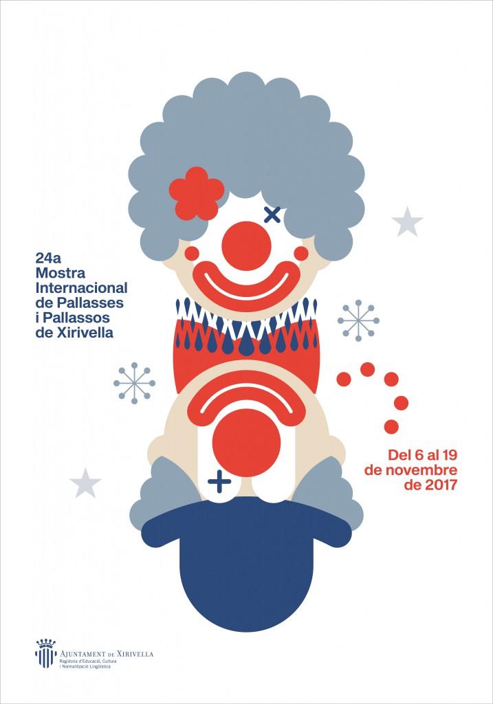 Mostra Internacional de Pallassos i Pallasses cartel.lecoolvalencia