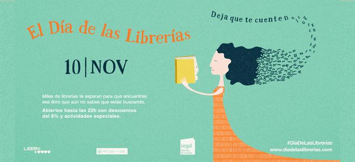 Día librerías banner.lecoolvalencia