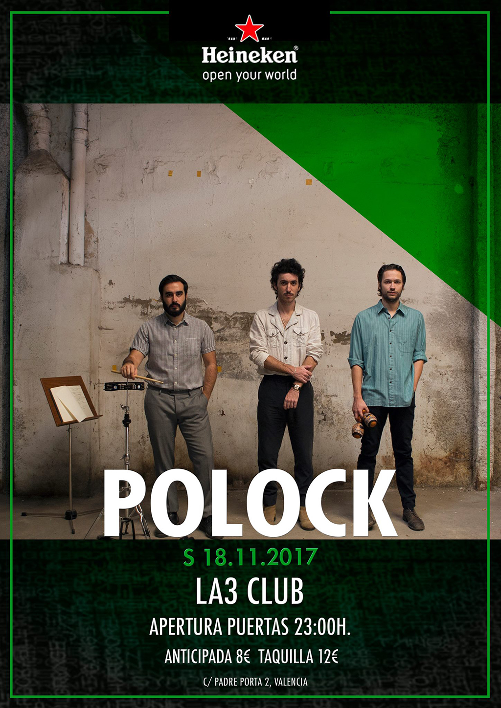 Polock La3 cartel.lecoolvalencia