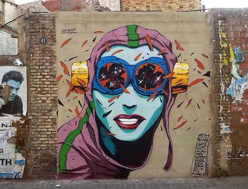 Street art El Deith.lecoolvalencia