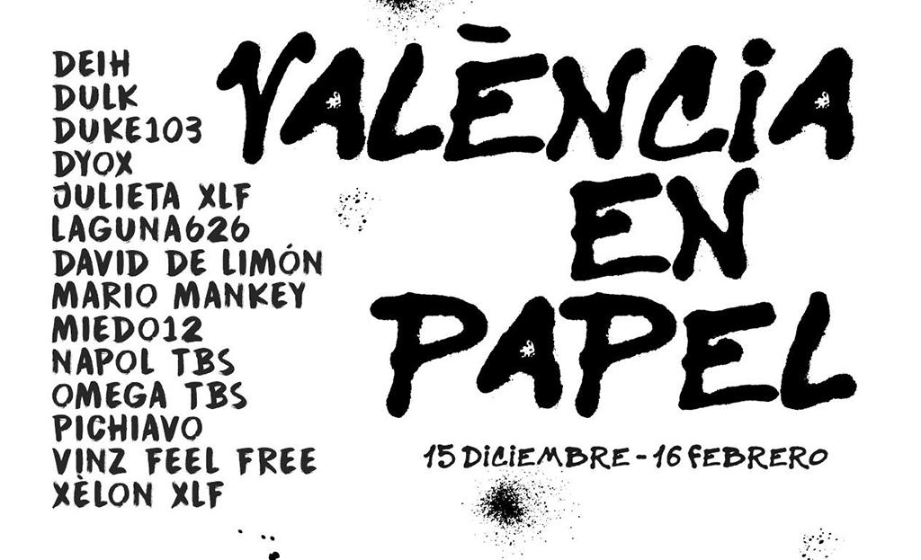 València en Papel cartel.lecoolvalencia