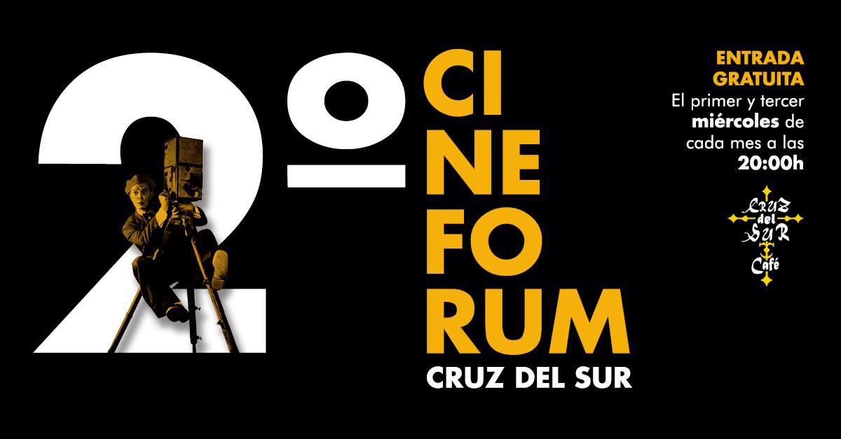 Cineforum Cruz del Sur banner.lecoolvalencia