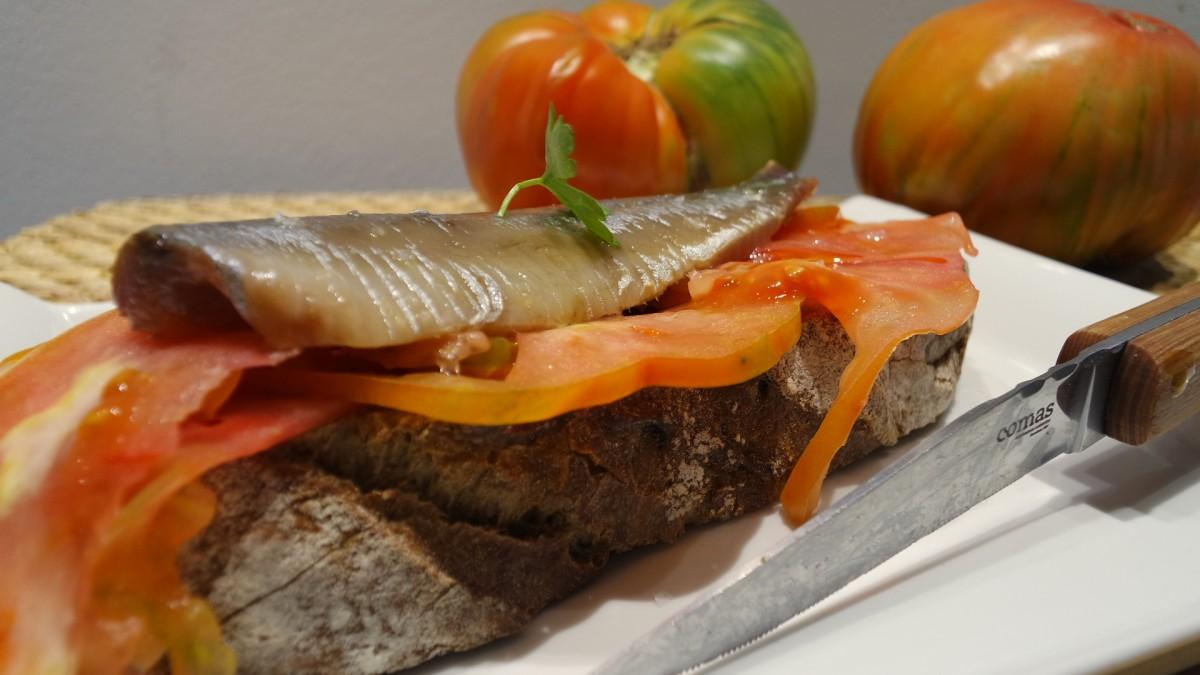 Divino de sardina ahumada
