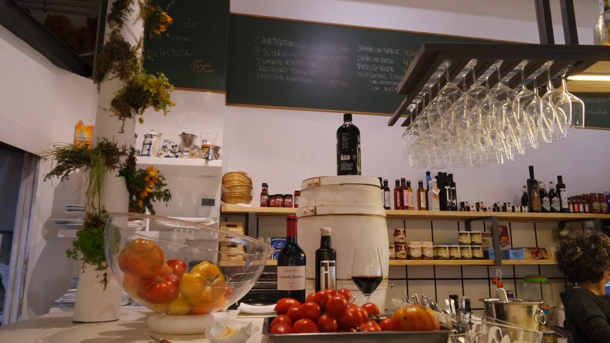 Buenos vinos y productos de mercado como sello de calidad