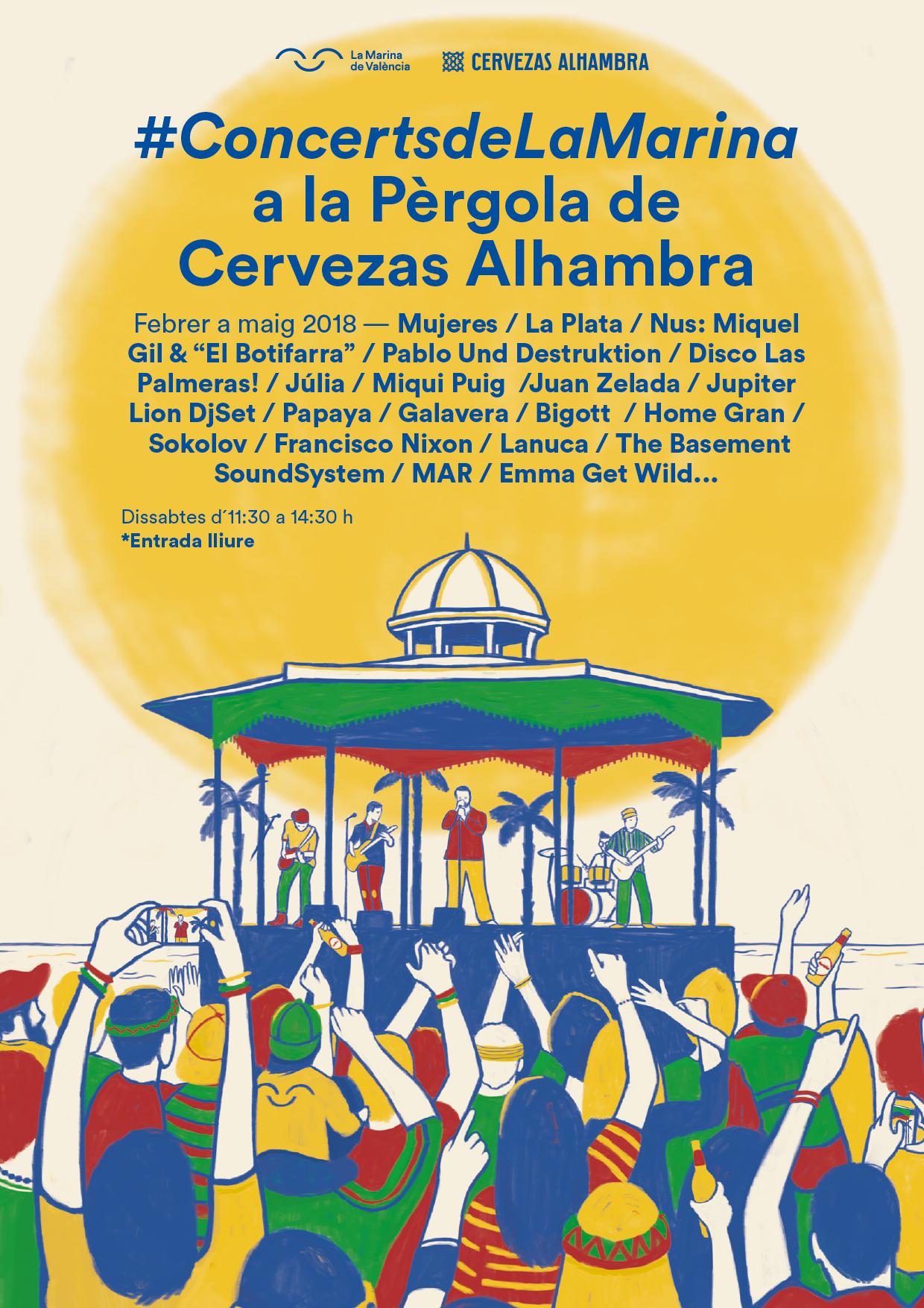 cartel_concerts_la_marina.lecoolvalencia