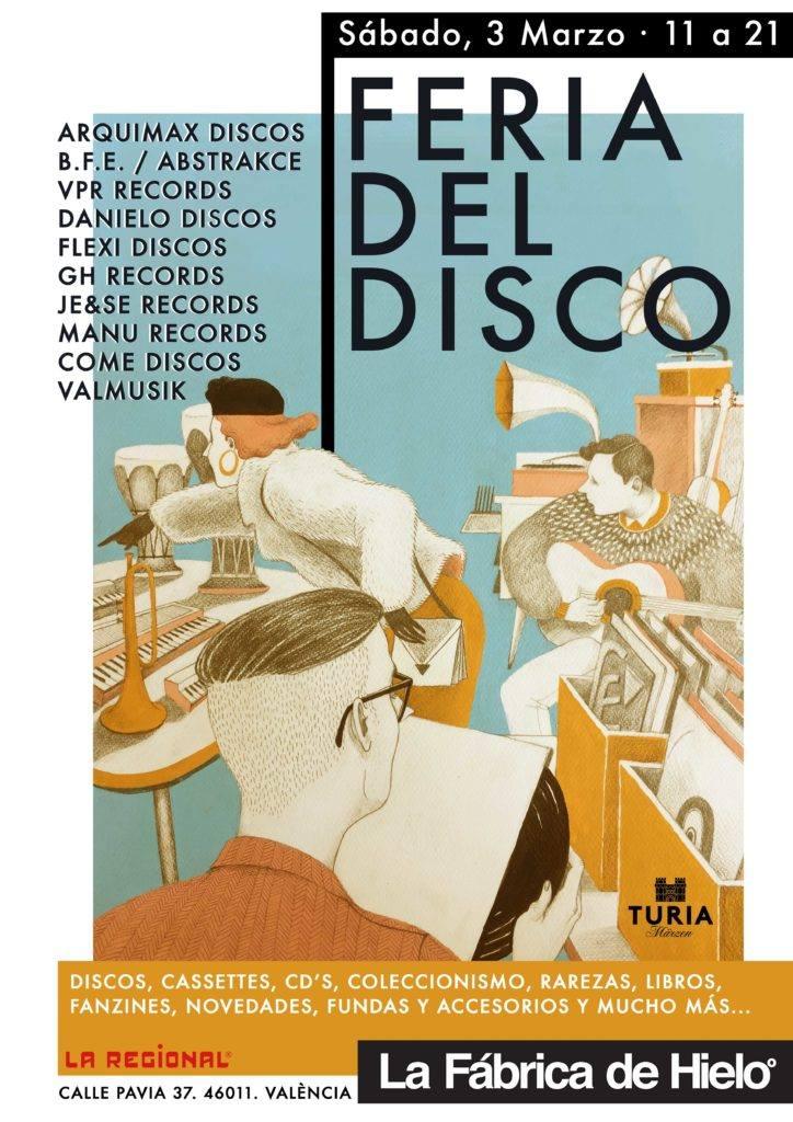Feria del disco.lecoolvalencia
