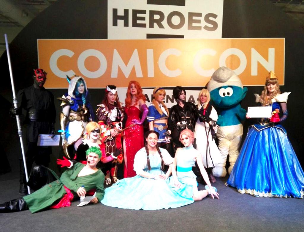 Heroes Comic Con 1.lecoolvalencia