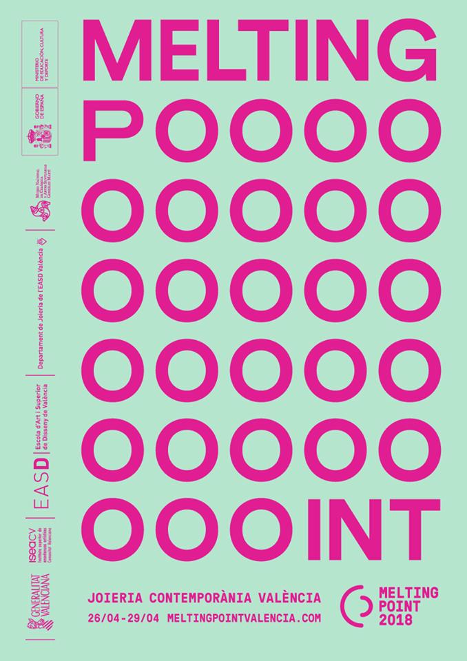 Melting Point 2018 cartel.lecoolvalencia
