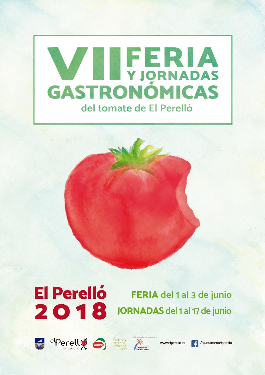 Cartel VII edición Feria del tomate de El Perelló
