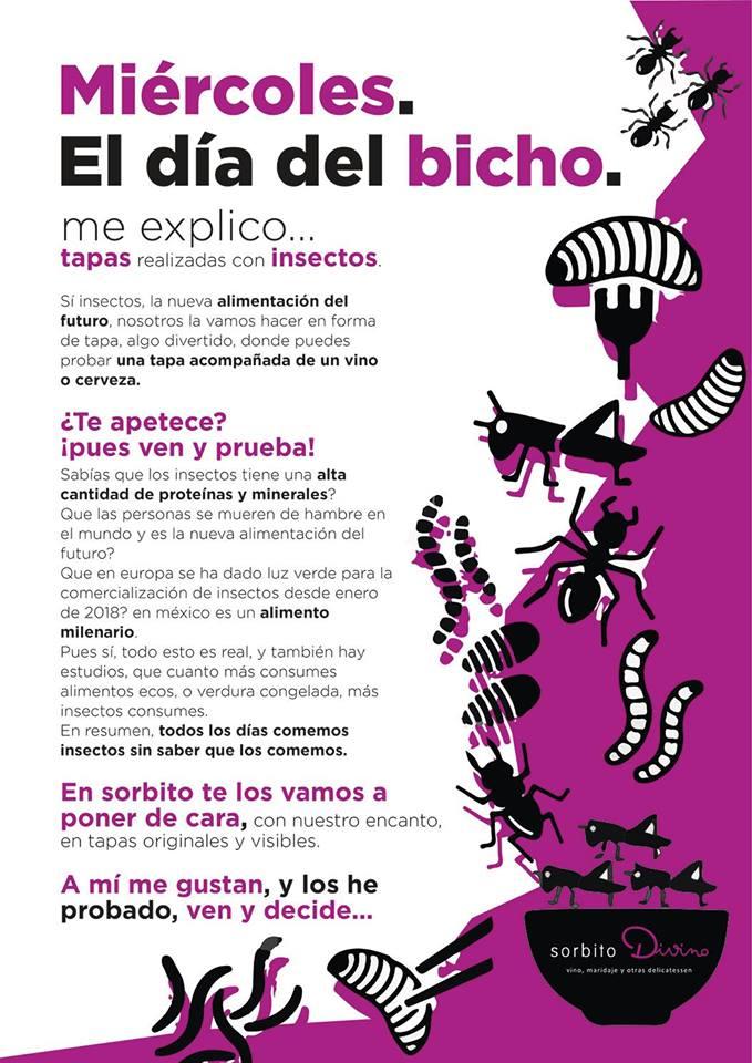 Cartel del Día del Bicho