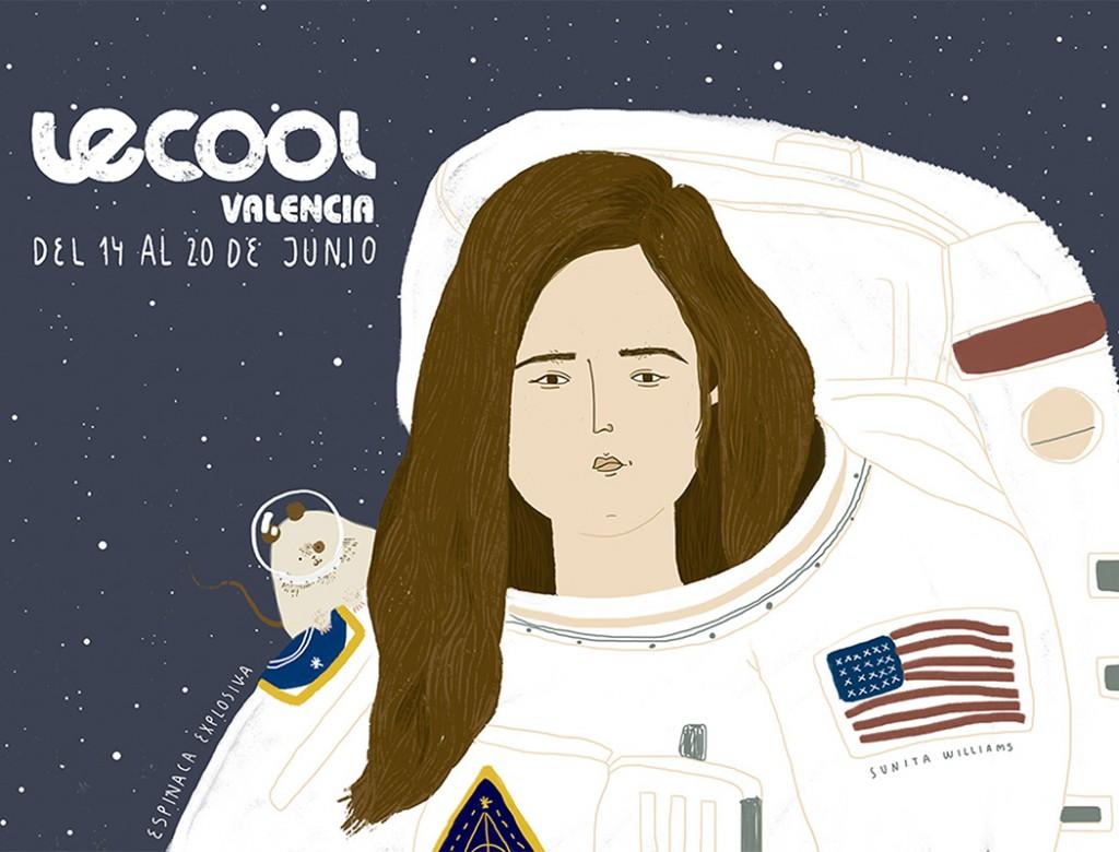 Portada Espinaca Explosiva Le Cool Valencia 14 - 20  jun 2018