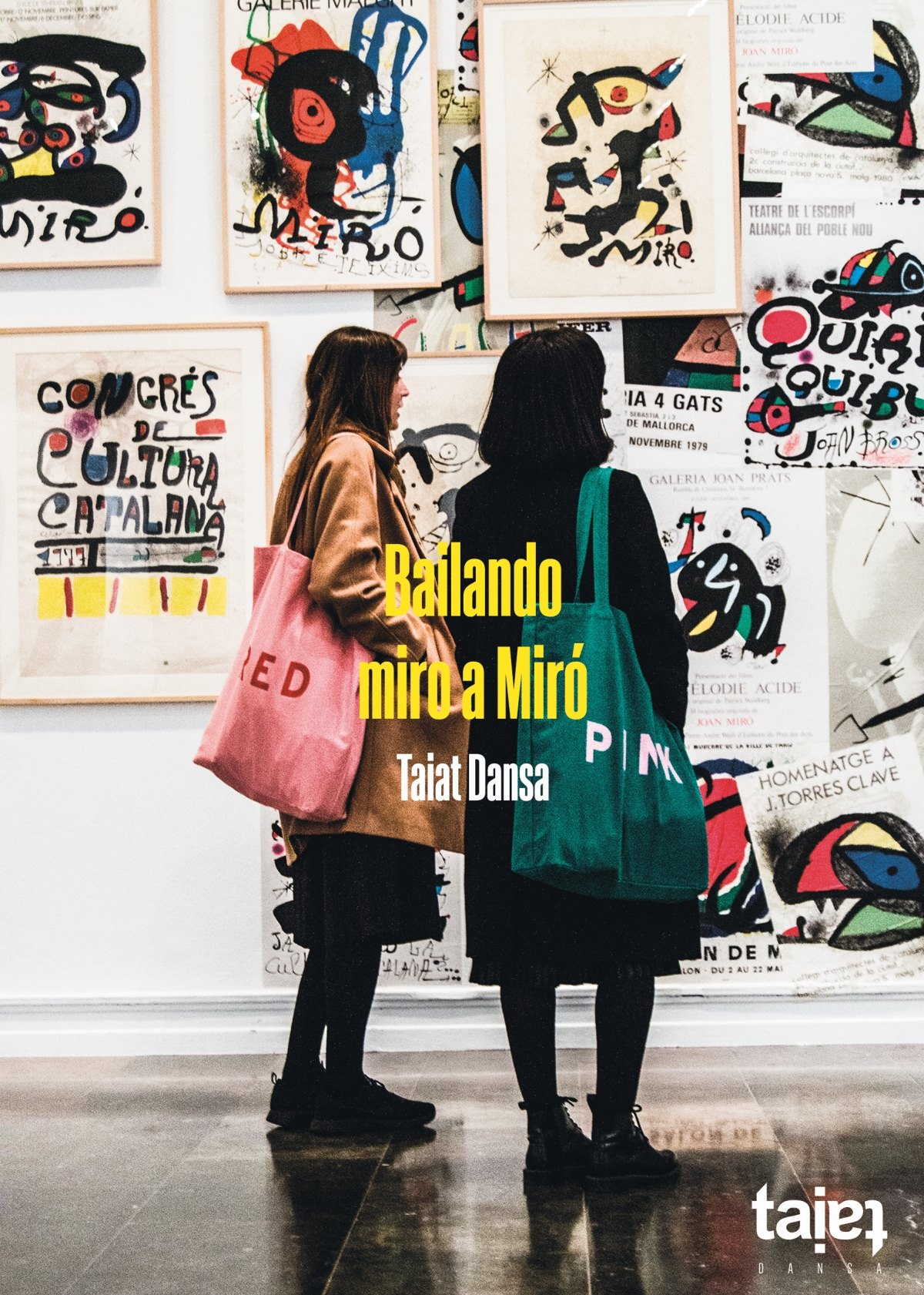 Taiat Miró cartel.lecoolvalencia