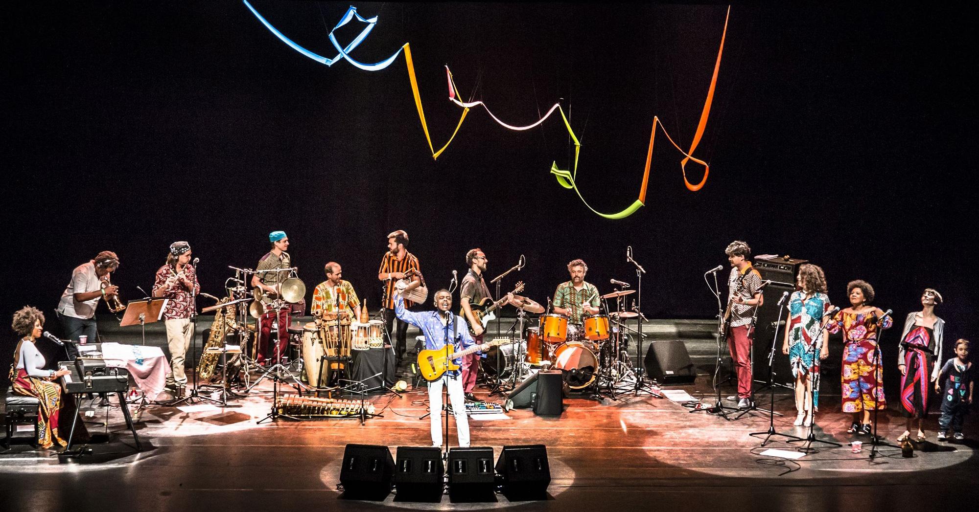 Gilberto Gil&Amigos con Refavela 40. Foto: Haus der Kulturen der Welt