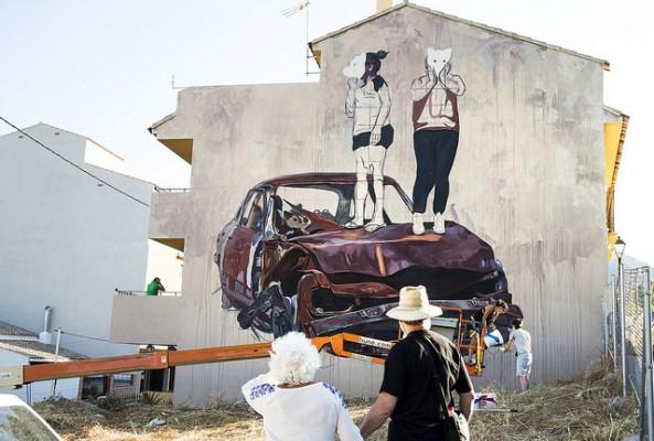 Mural de Milu Correch. Foto: Flickr Carme Ripollés