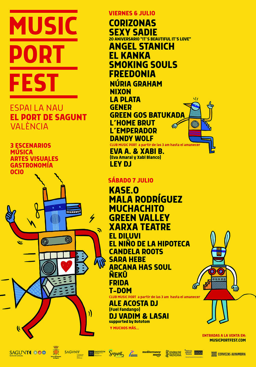 Music Port Fest cartel.lecoolvalenciajpg
