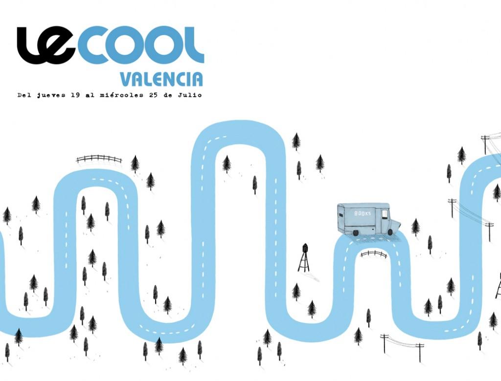 Portada Juanjo Gasull para Le Cool Valencia del 19 al 25 de julio de 2018